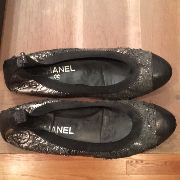 9082fefe7 CHANEL Shoes | Stretch Spirit Flats Ballerinas | Poshmark